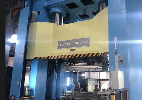 compression mould press